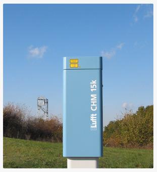 Lufft Ceilómetro CHM 15k