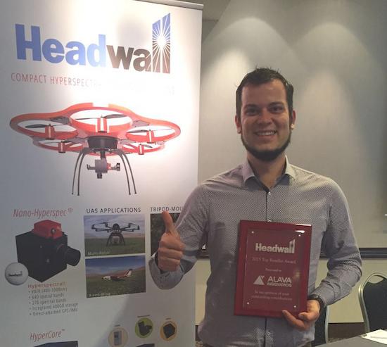 Headwall Photonics premia al Grupo Álava Ingenieros