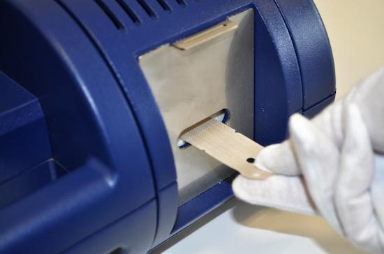Sistema de detecci�n de trazas de eplosivos y narc�ticos Itemiser 4DX