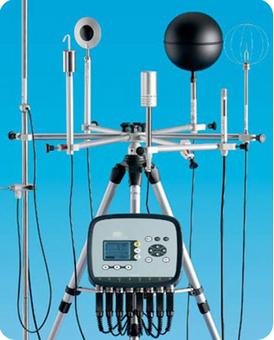 Equipo port�til para la evaluaci�n de estr�s t�rmico -  HD 32.1