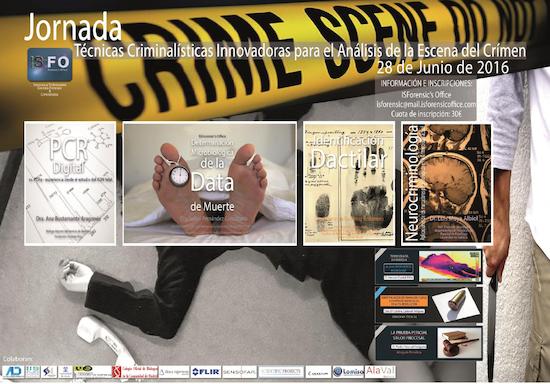 Jornada tecnicas criminalistas