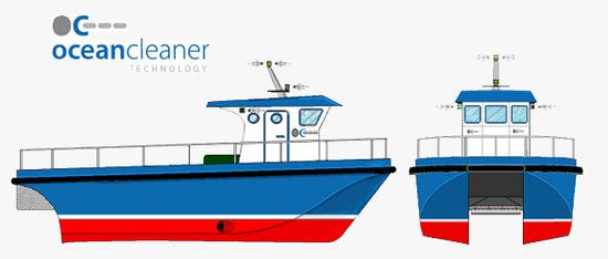 Embarcaci�n de recogida de vertidos OCTech