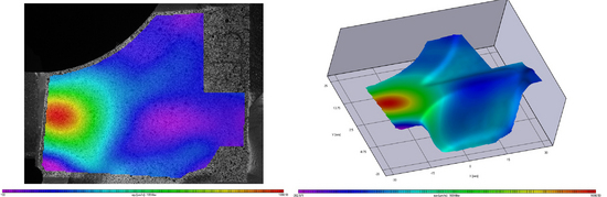 Medida de deformaciones, desplazamientos y contornos, an�lisis de materiales_2