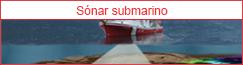 Sonar submarino para seguridad