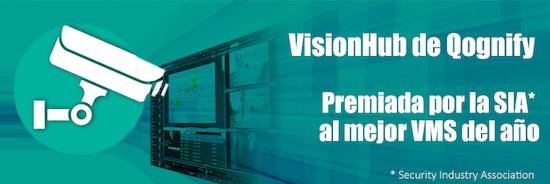 VisionHub de Qognify: Premiada opr la SIA* al mejor VMS del año