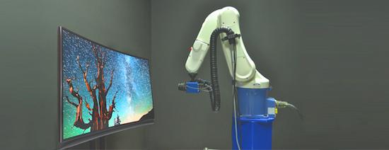 Control de calidad de pantallas y displays