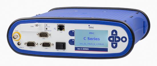 Sistema de adquisición de datos imc C-SERIES