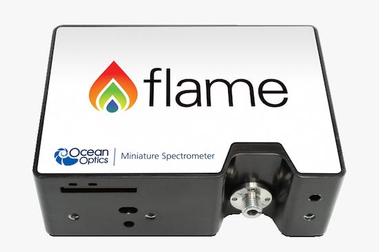 Espectr�metro miniatura Flame de Ocean Optics