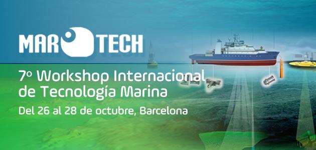 7� Workshop INternacional de Tecnolog�a Marina - MARTECH 2016