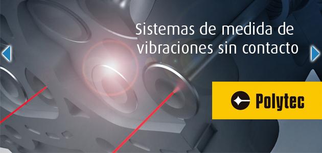Sistemas de medida de vibraciones sin contacto mediante vibrometr�a l�ser