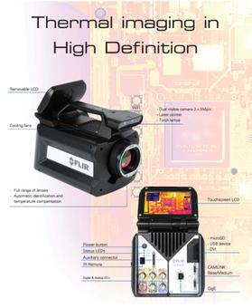camara termografica flir sc8400