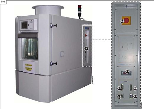 Cámara ACS ensayos baterias electricas