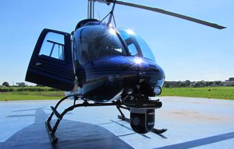 Sistema giroestabilizado en helic�ptero