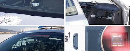 Basler - cámaras en coches de policia