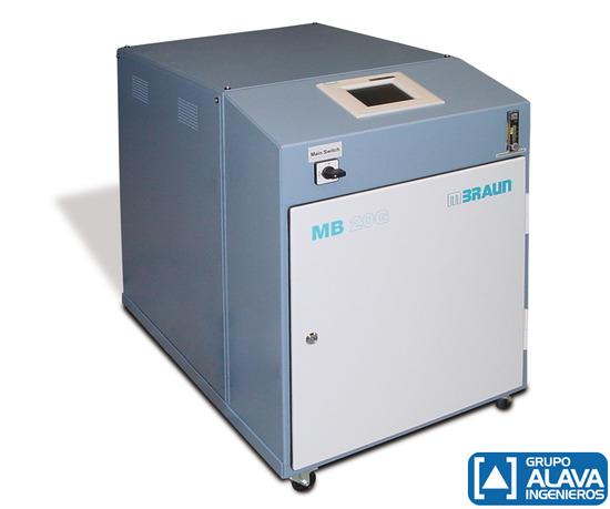 Sistema de purificación de gases - MBraun