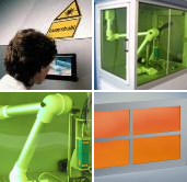 ventanas de protección - Laservision